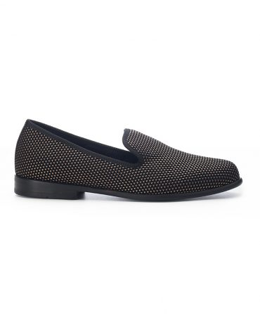 Duke & Dexter Bronze Pyramid Loafers