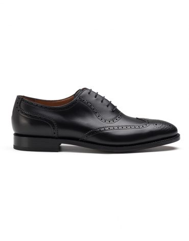 Andrés Sendra Black Brogue Oxford Shoe