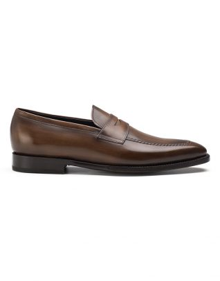 Andrés Sendra Brown Penny Loafers