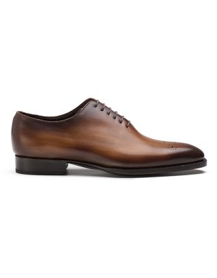Andrés Sendra Medallion Brown Oxford Shoe