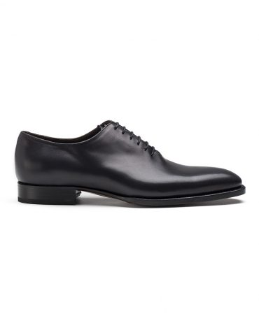 Andrés Sendra Plain Toe Black Oxford Shoe
