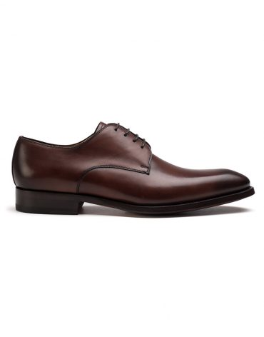 Magnanni Mid-Brown Derby Shoe