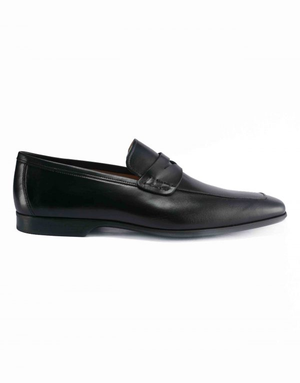 APRON TOE BLACK PENNY LOAFER1