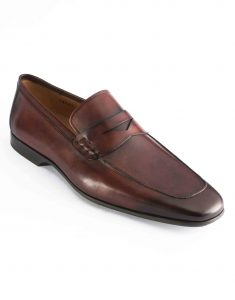 APRON TOE MID BROWN PENNY LOAFER2