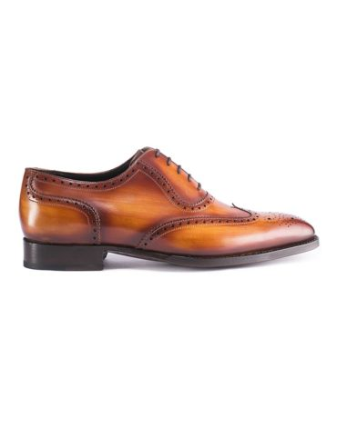 Andrés Sendra Brown Wingtip Brogue Oxford