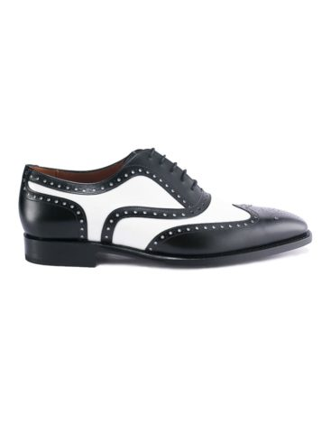 Andres Sendra-Shoes-12562-Boxcalf BlackWhite-1