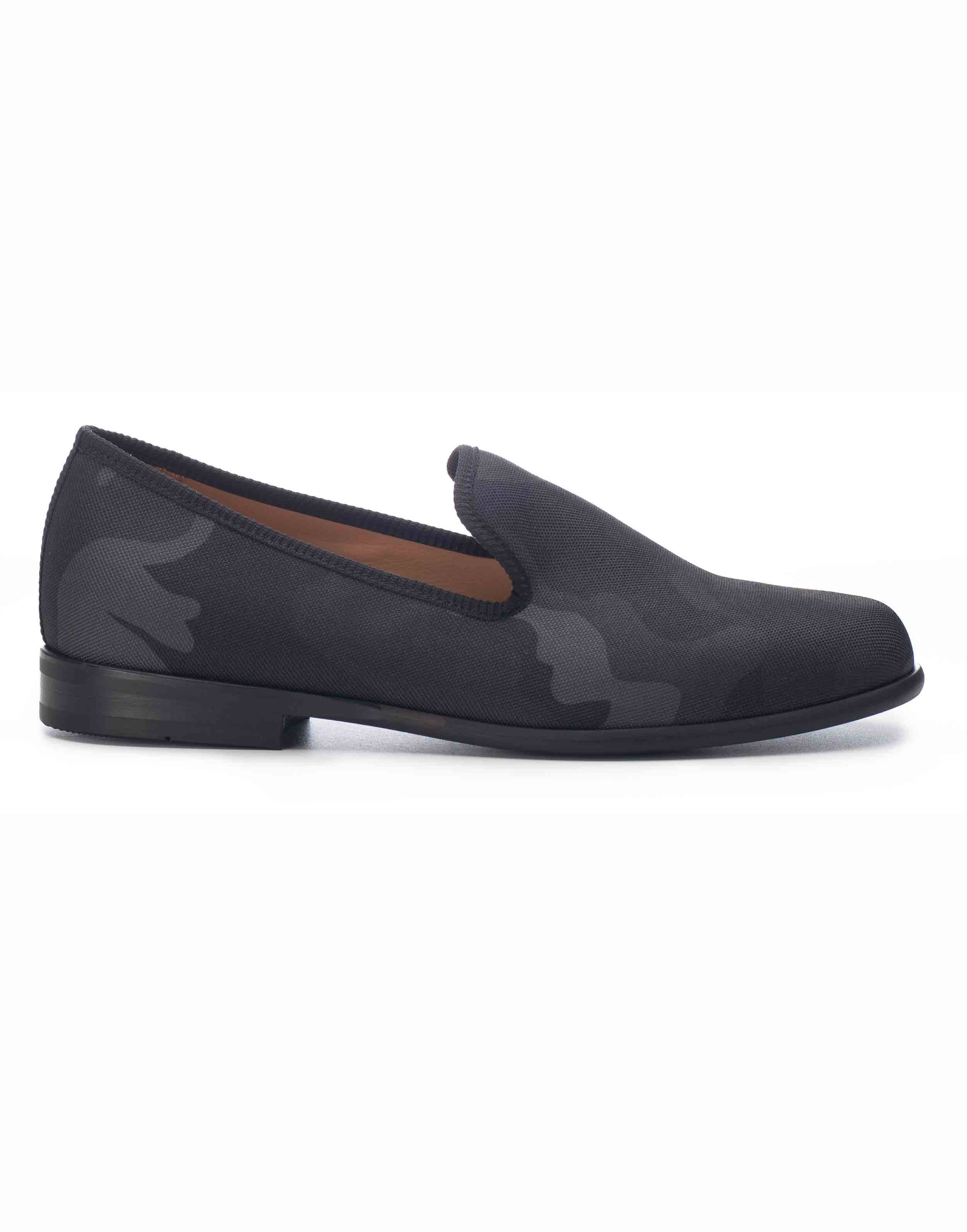 BLACK CAMOUFLAGE LOAFERS1