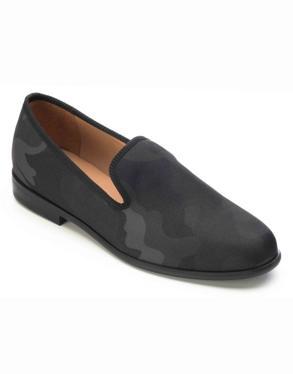 BLACK CAMOUFLAGE LOAFERS2