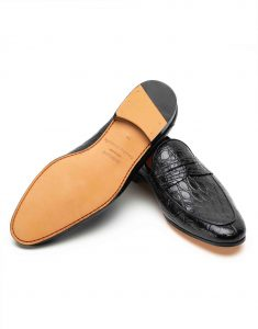 BLACK CROC LOAFER3