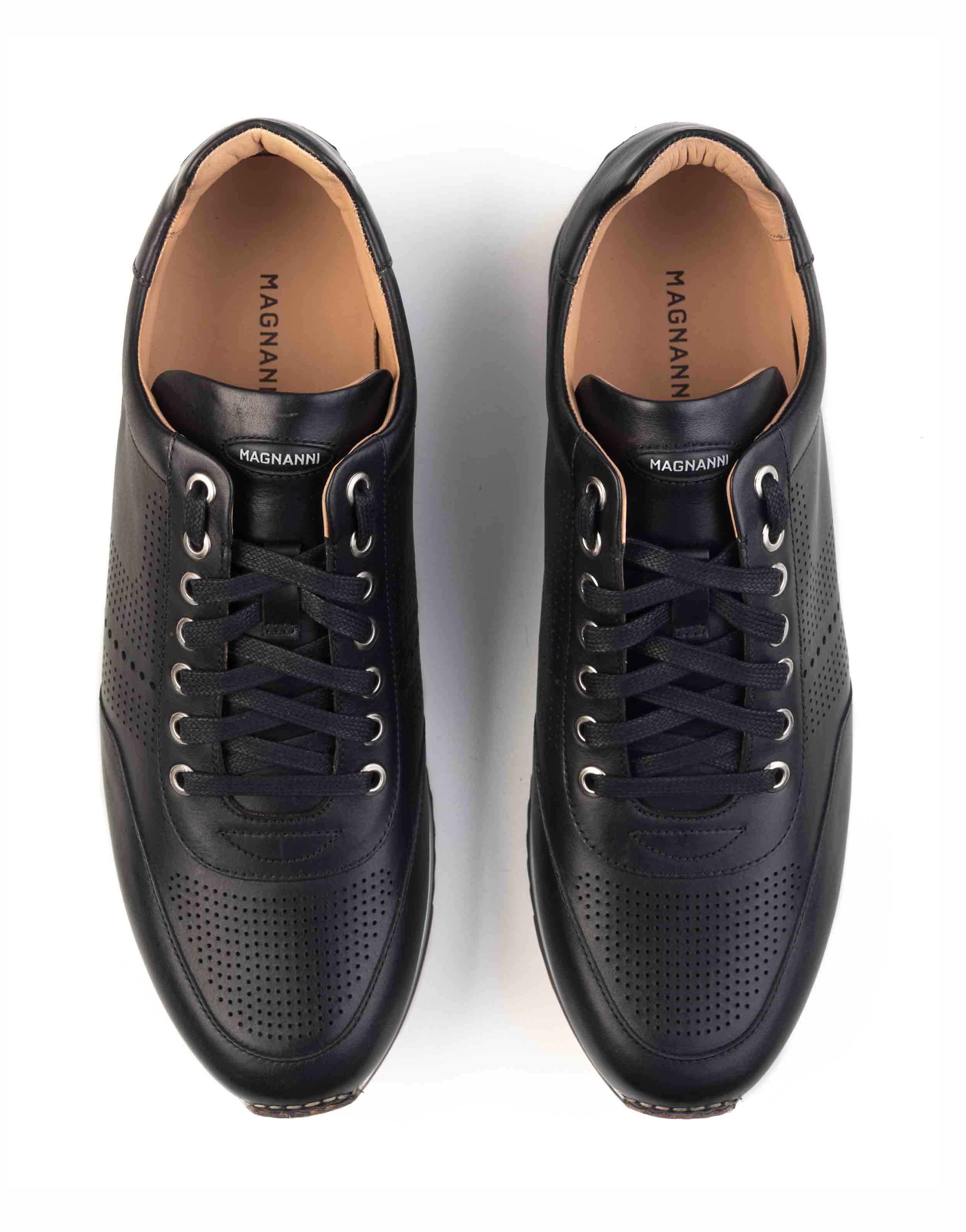 BLACK PERFORATED SNEAKERS4