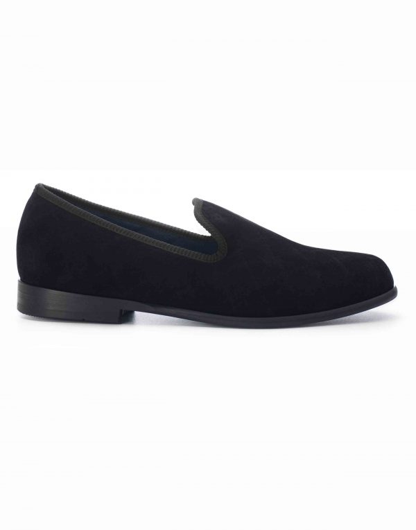 BLACK QUILTED LOAFERS1