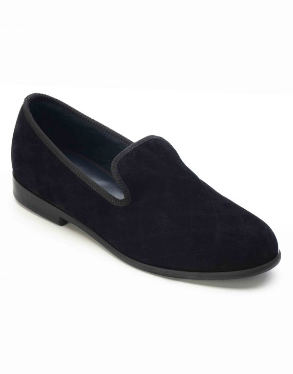 BLACK QUILTED LOAFERS2