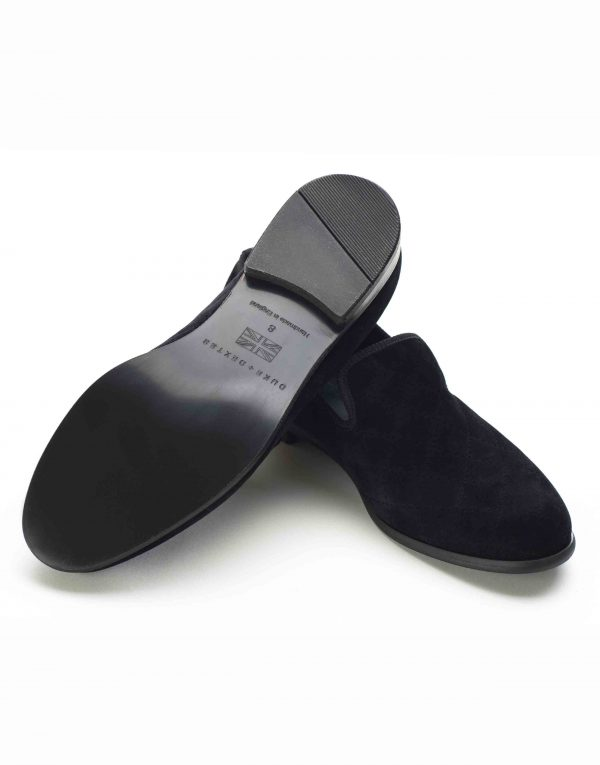 BLACK QUILTED LOAFERS3