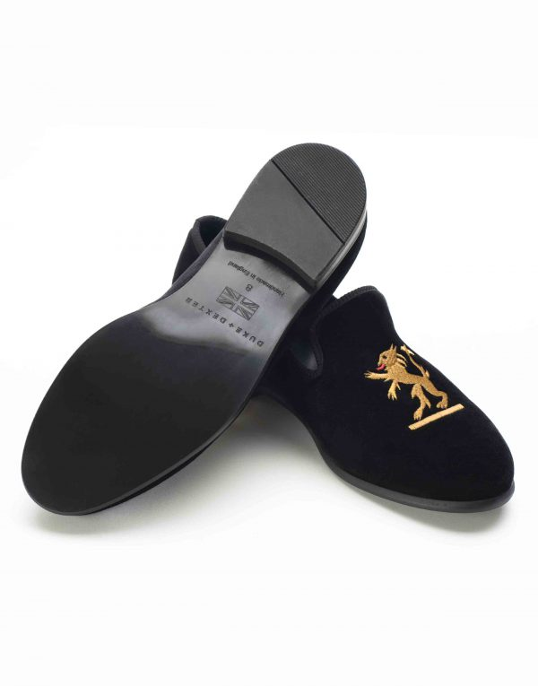 BLACK VELVET LOAFERS – SIMBA3
