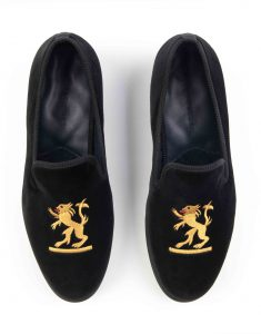 BLACK VELVET LOAFERS – SIMBA4