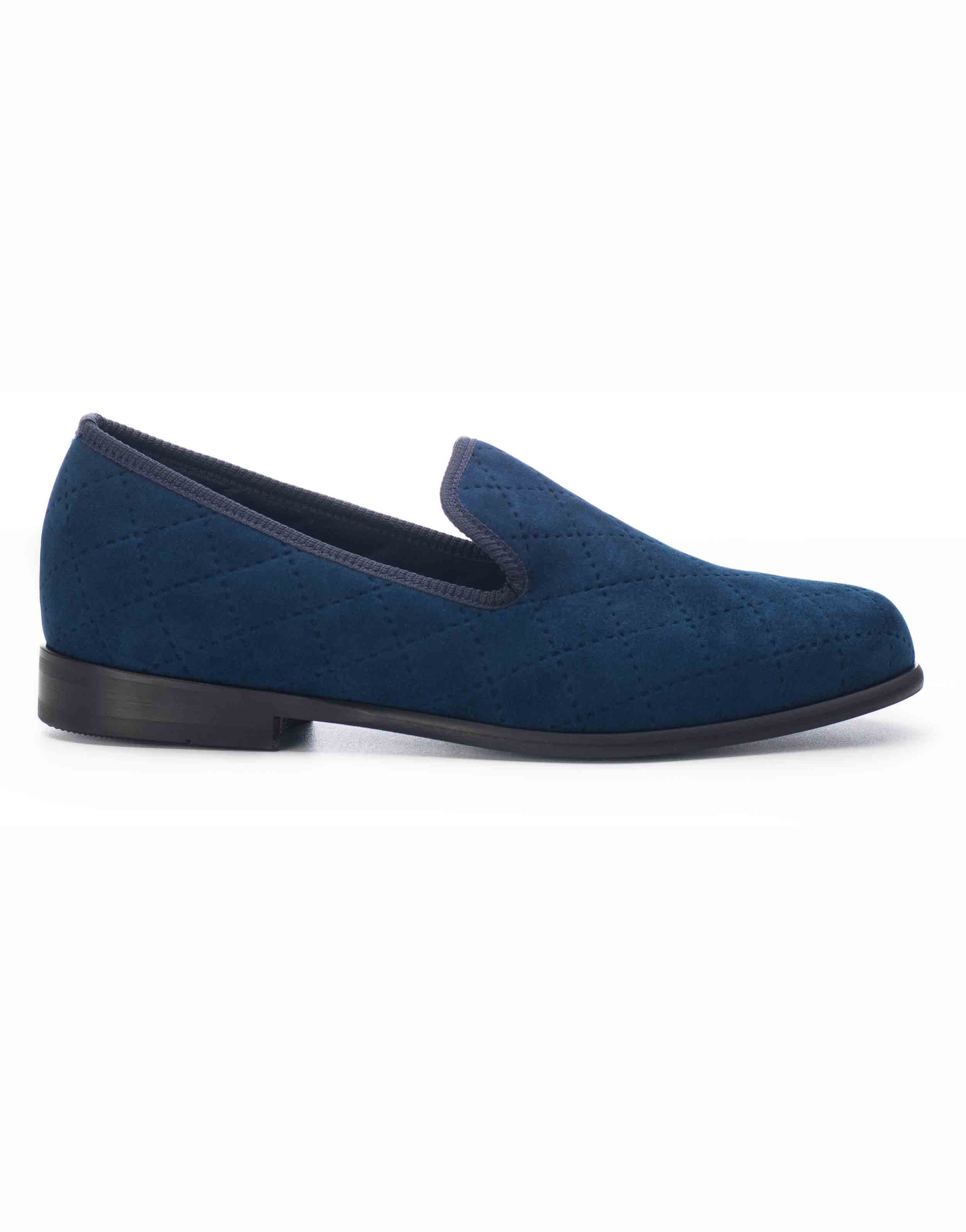 BLUE QUILTED LOAFERS1