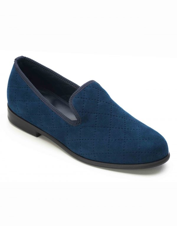 BLUE QUILTED LOAFERS2