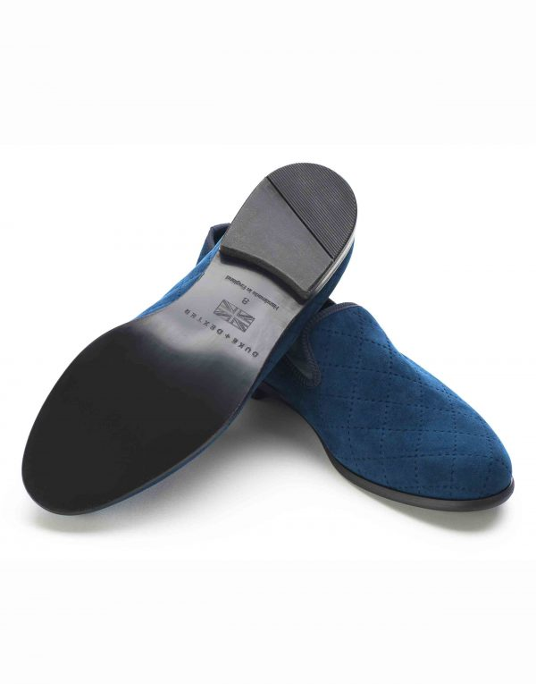 BLUE QUILTED LOAFERS3