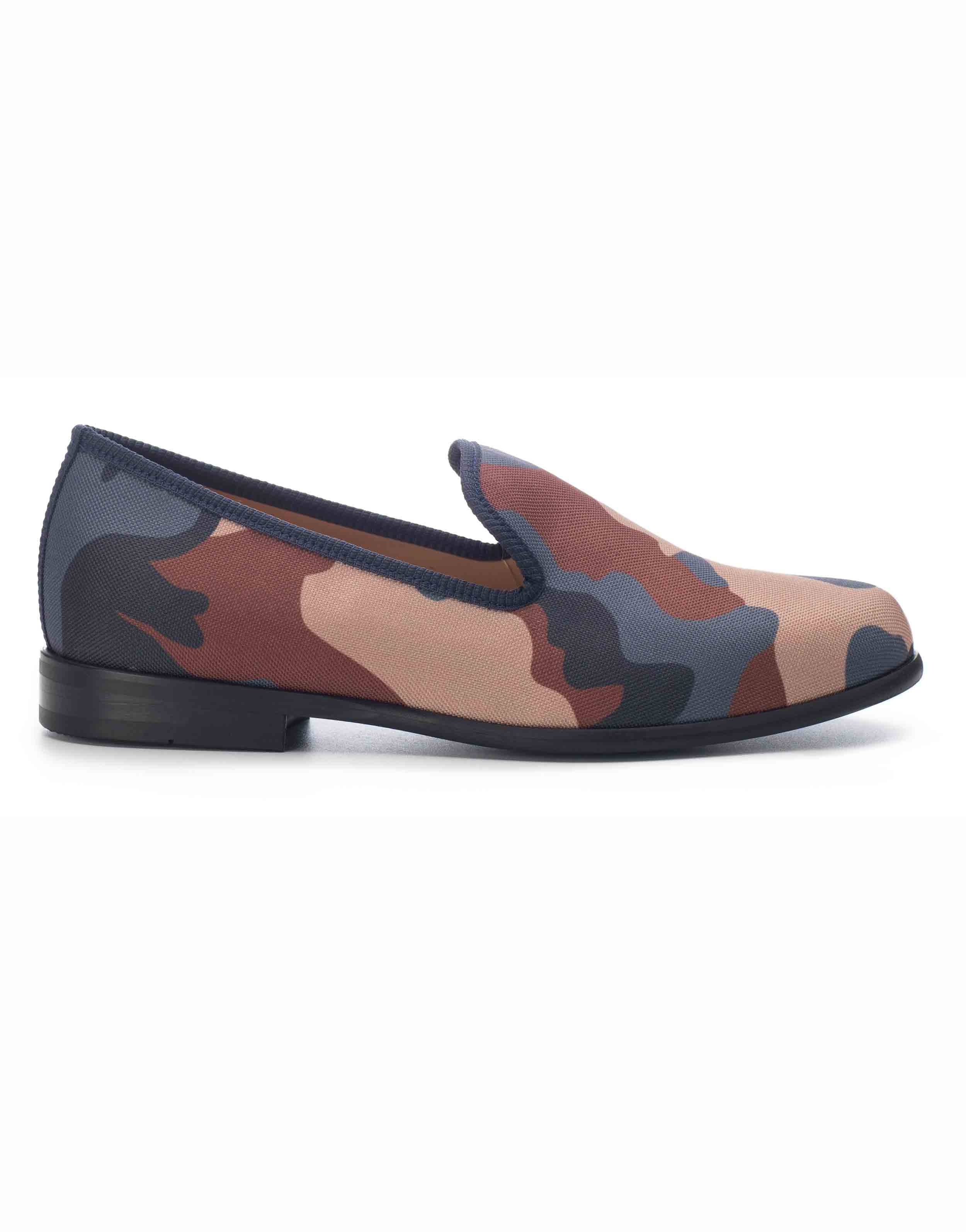 BLUE _ BROWN CAMOUFLAGE LOAFERS1