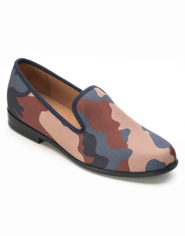 BLUE _ BROWN CAMOUFLAGE LOAFERS2