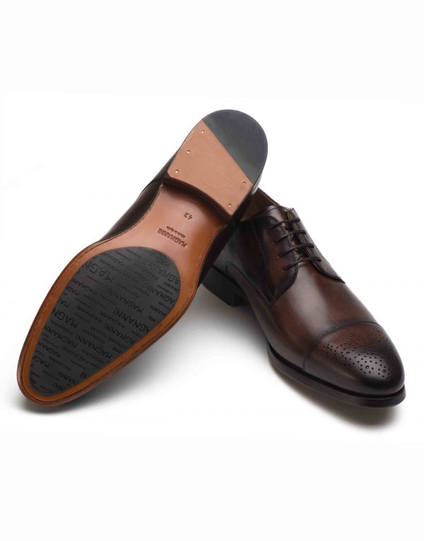 BROWN CAP-TOED DERBY SHOE3