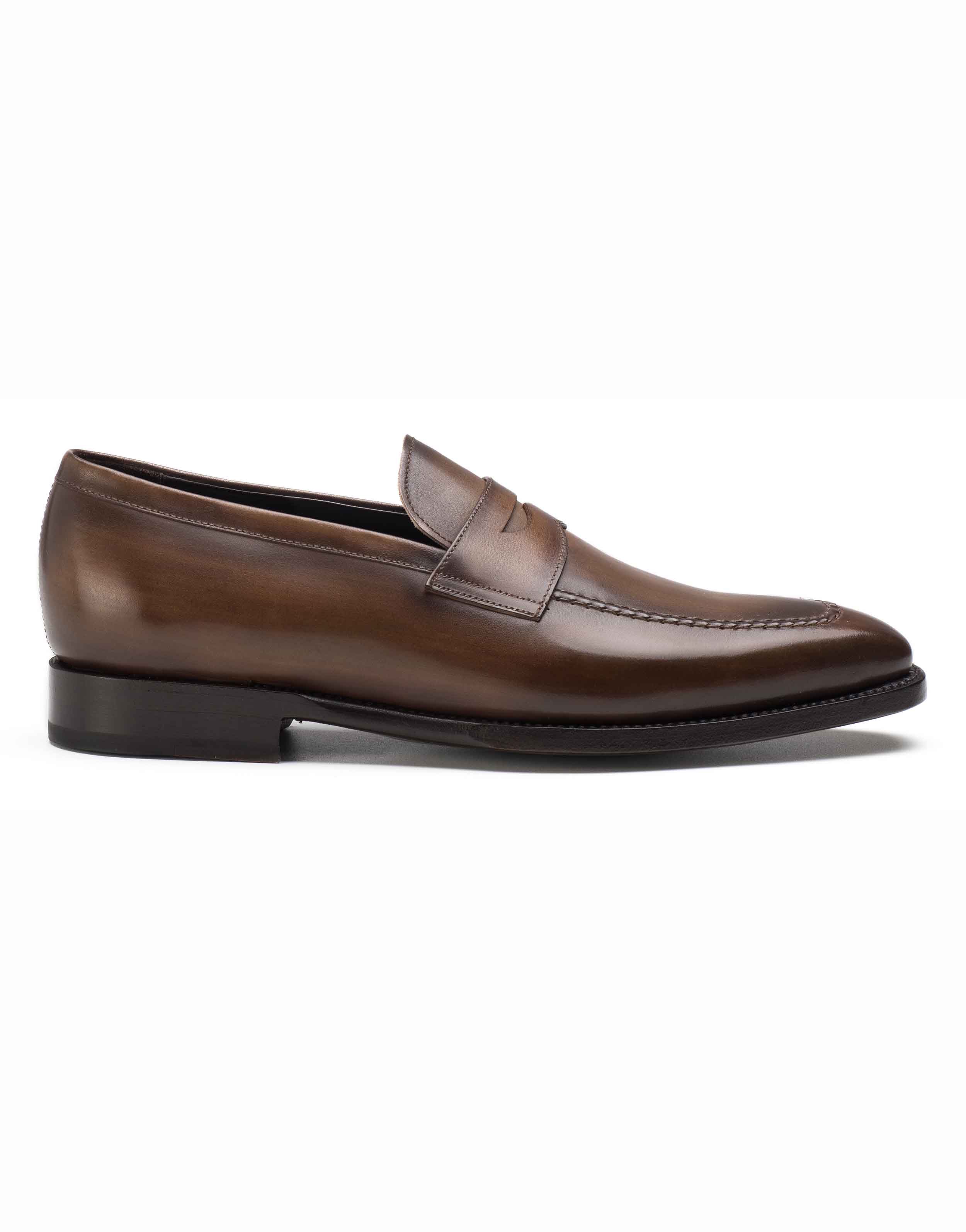 BROWN PENNY LOAFERS1