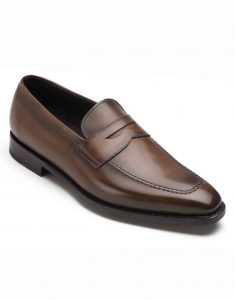 BROWN PENNY LOAFERS2