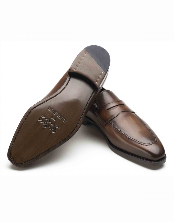 BROWN PENNY LOAFERS3