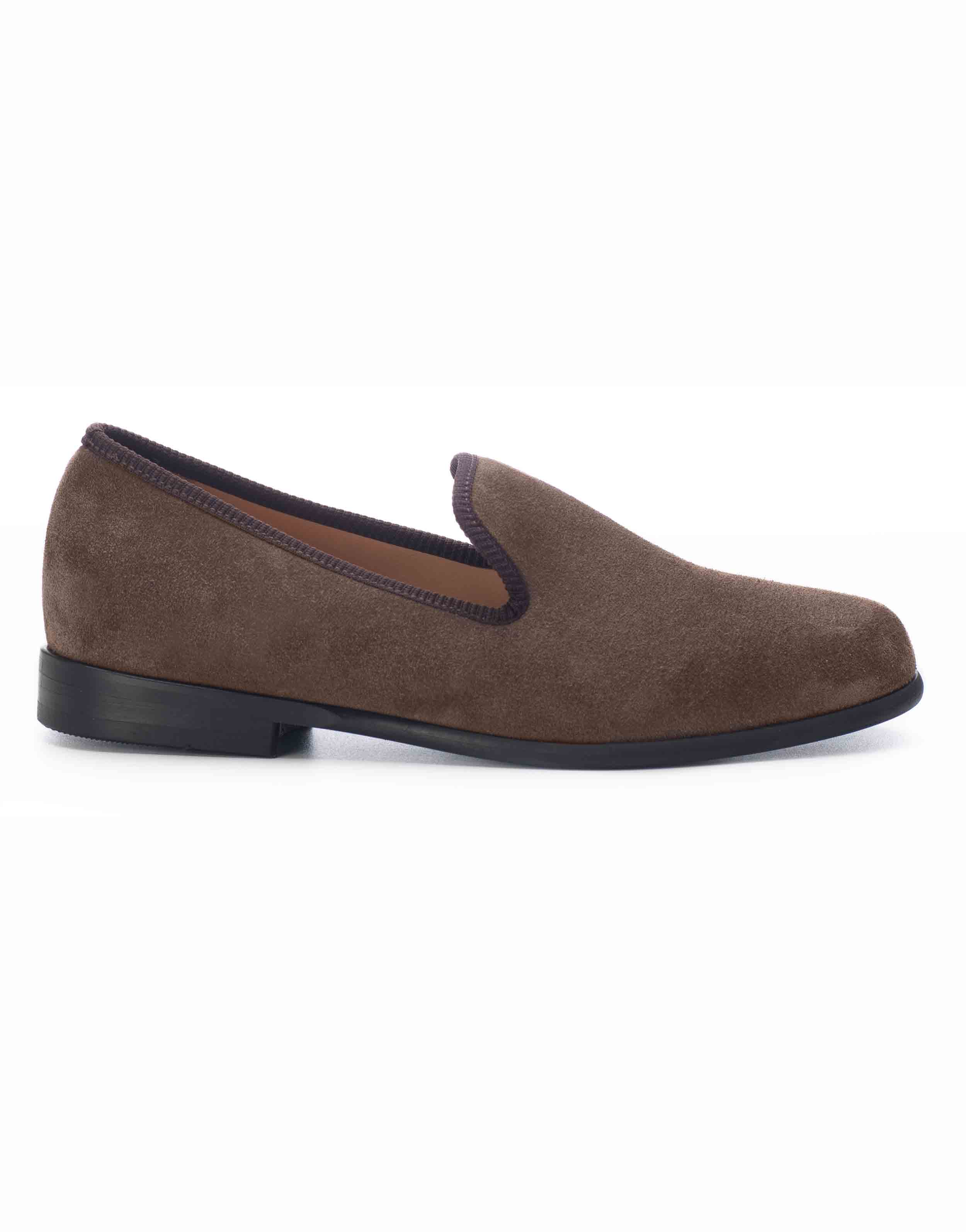 BROWN SUEDE LOAFERS1