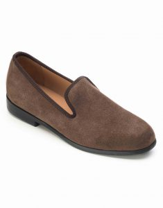 BROWN SUEDE LOAFERS2