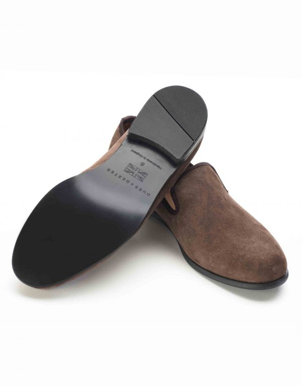 BROWN SUEDE LOAFERS3