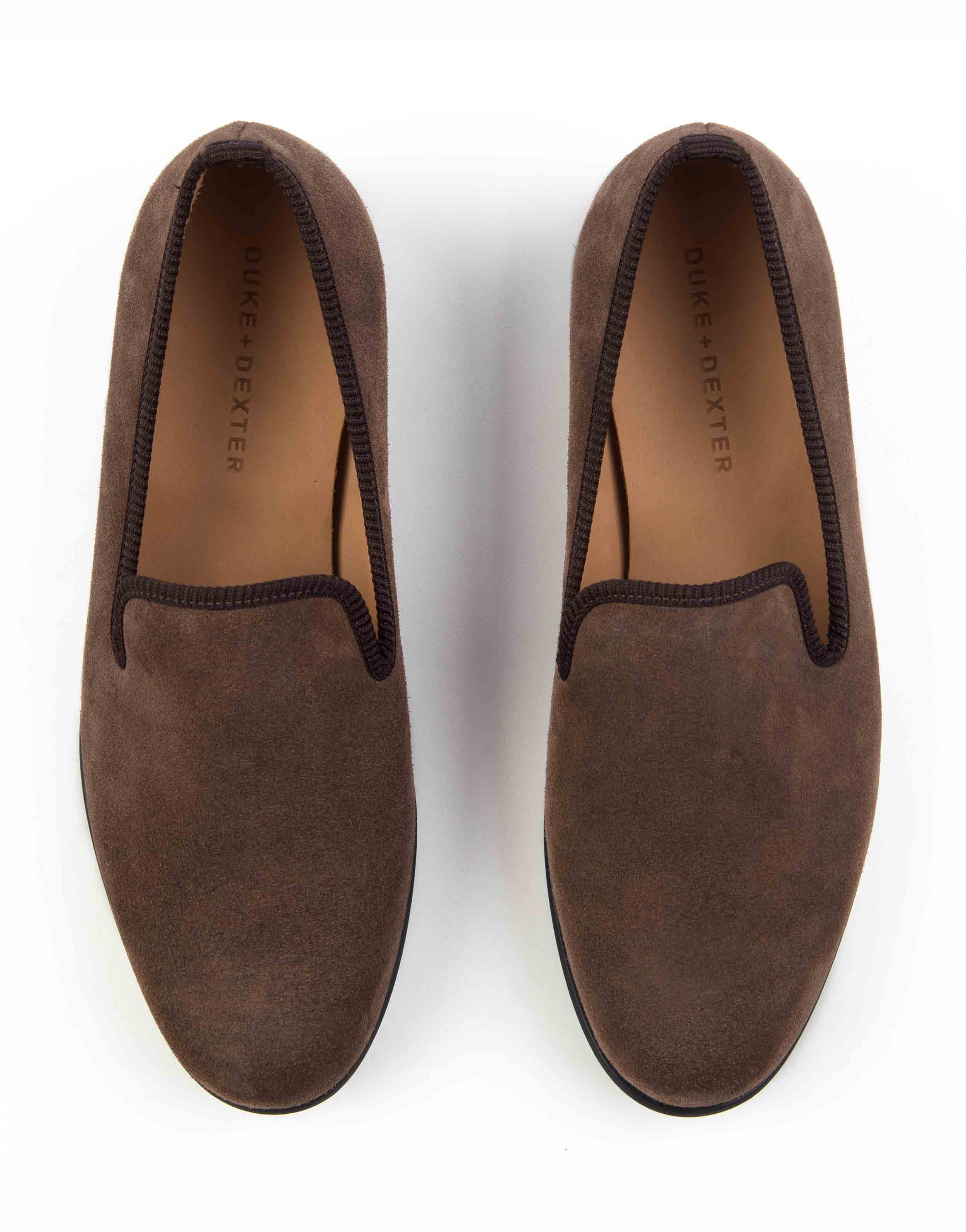 BROWN SUEDE LOAFERS4