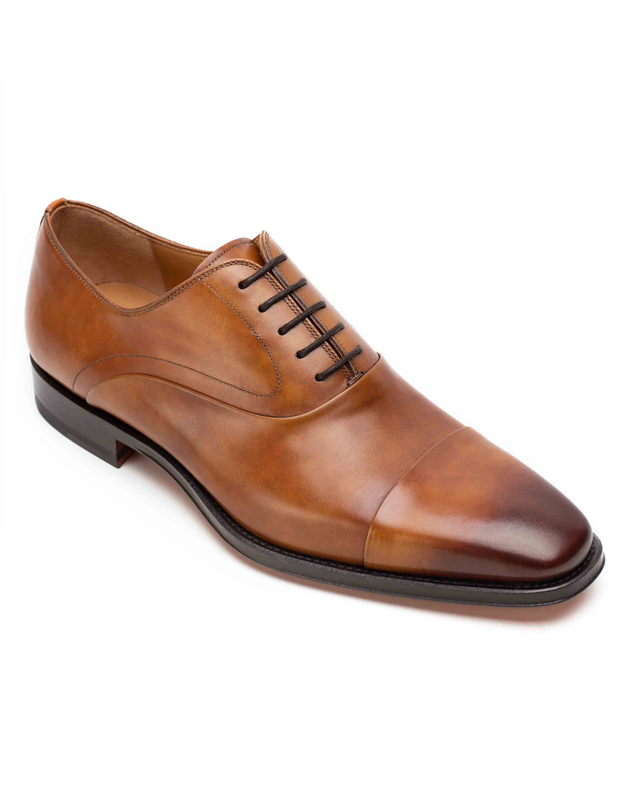 BURNT SIENNA LACEUP OXFORD2