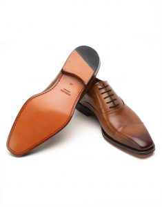 BURNT SIENNA LACEUP OXFORD3