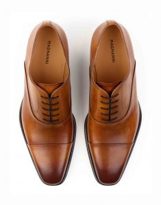BURNT SIENNA LACEUP OXFORD4