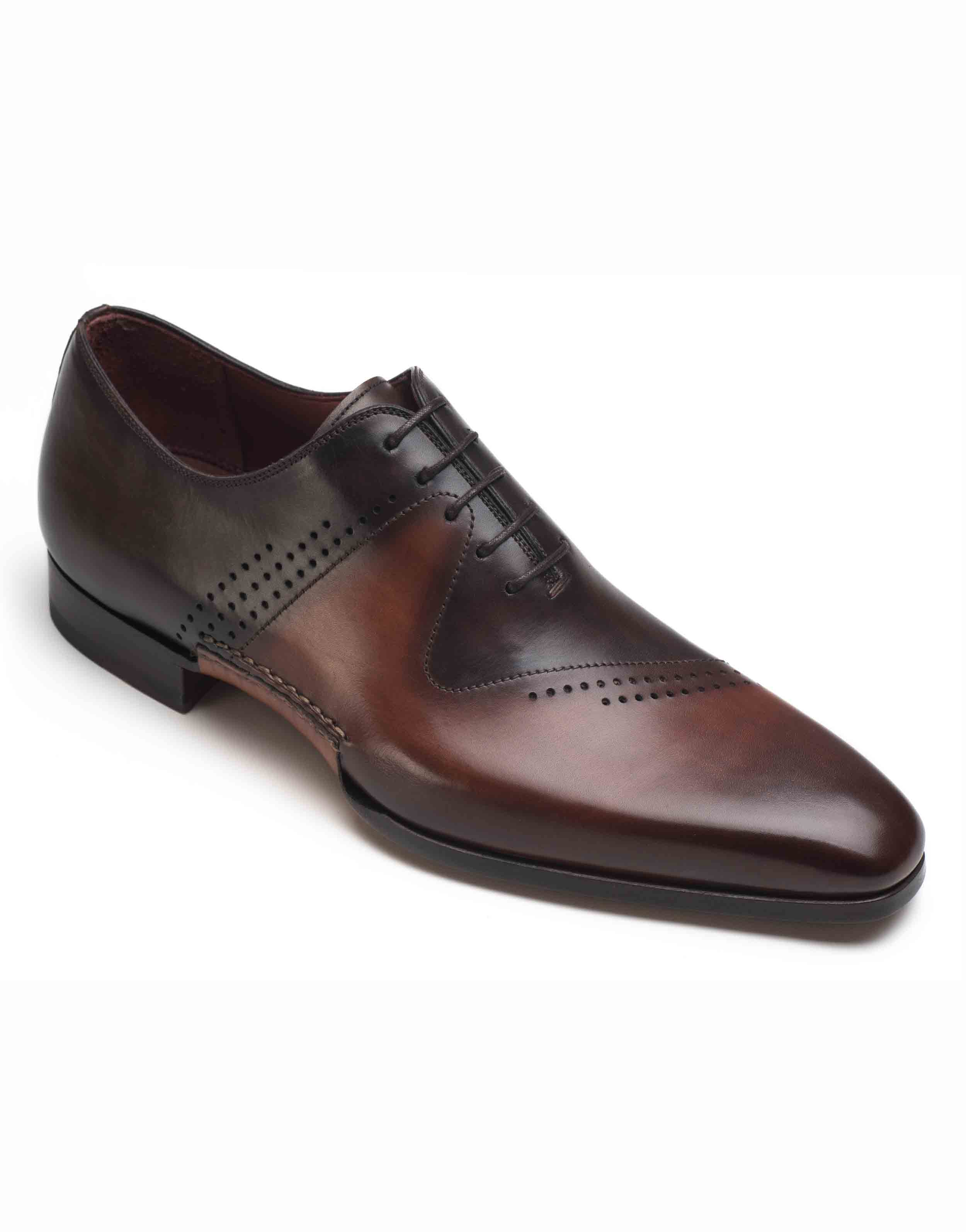 COGNAC AND BROWN OXFORD SHOE2