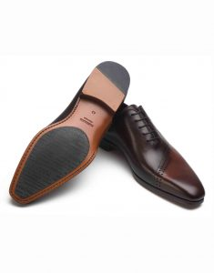 COGNAC AND BROWN OXFORD SHOE3