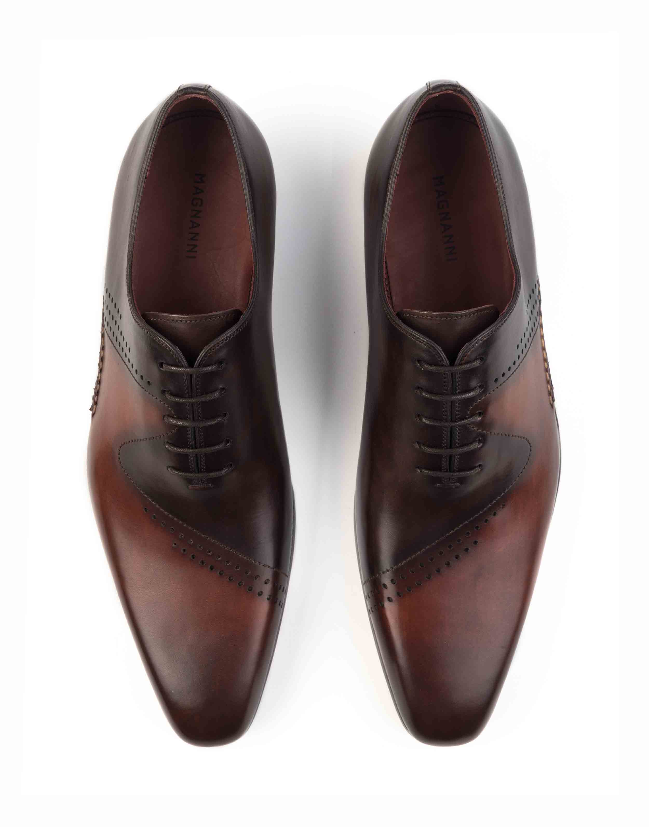 COGNAC AND BROWN OXFORD SHOE4