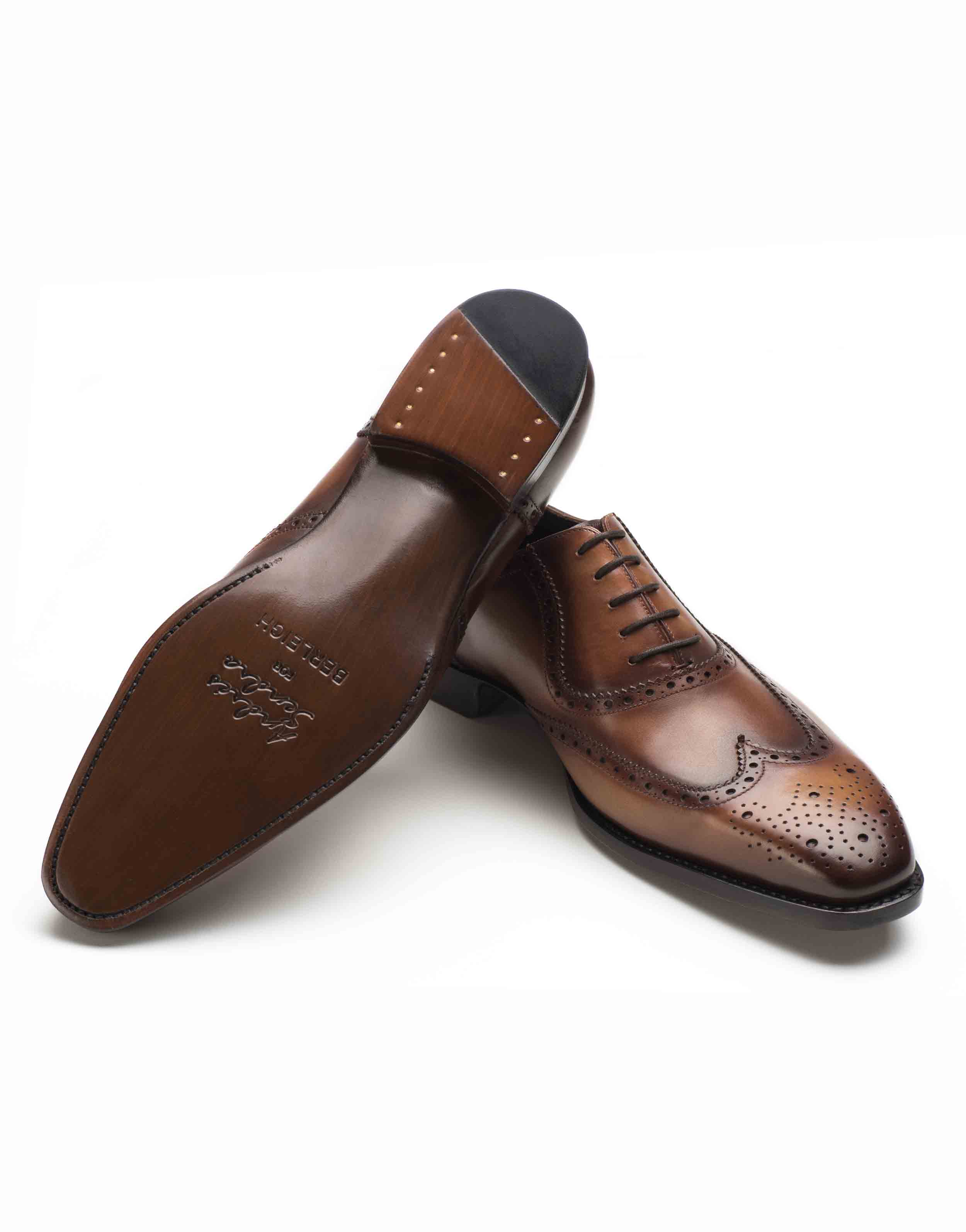 COGNAC BROGUE OXFORD SHOE3