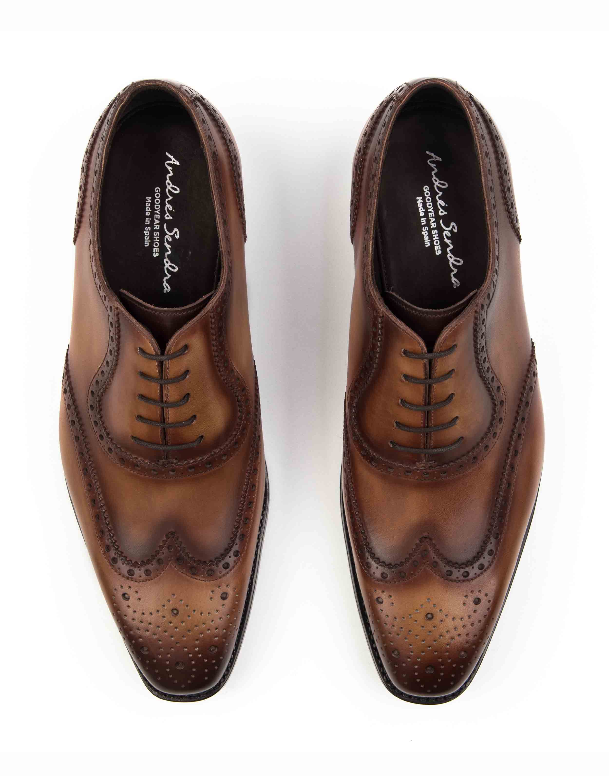 COGNAC BROGUE OXFORD SHOE4