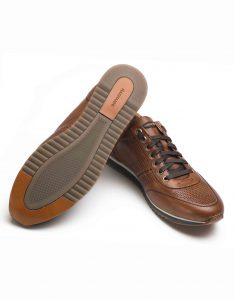 COGNAC PERFORATED SNEAKERS3