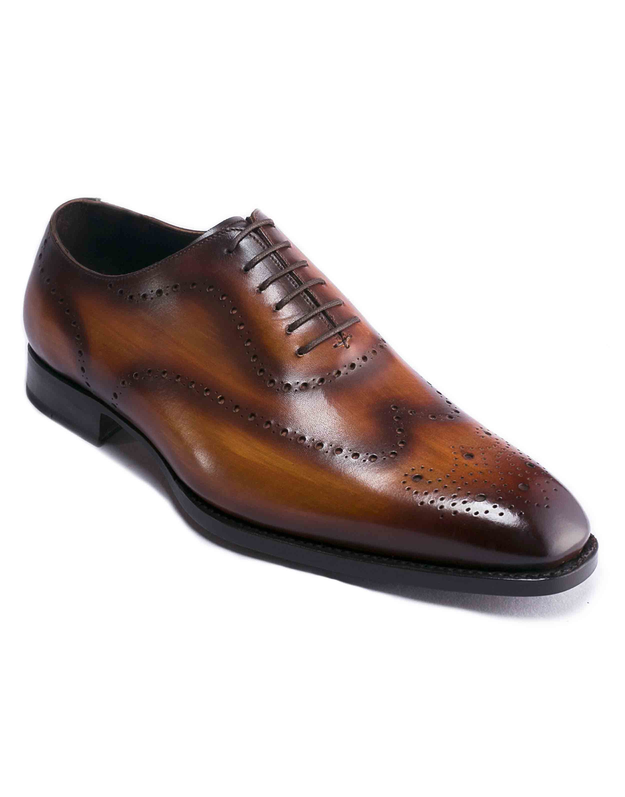 DARK BROWN PATINA BROGUE OXFORD2