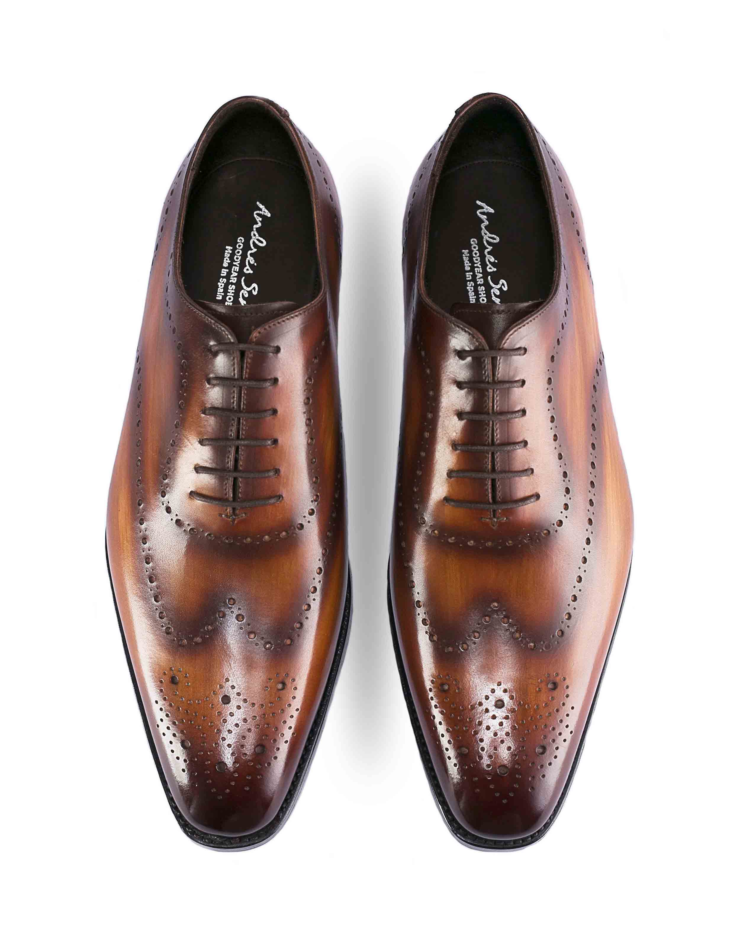 DARK BROWN PATINA BROGUE OXFORD4
