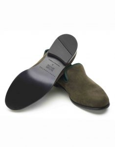 GREEN SUEDE LOAFERS3
