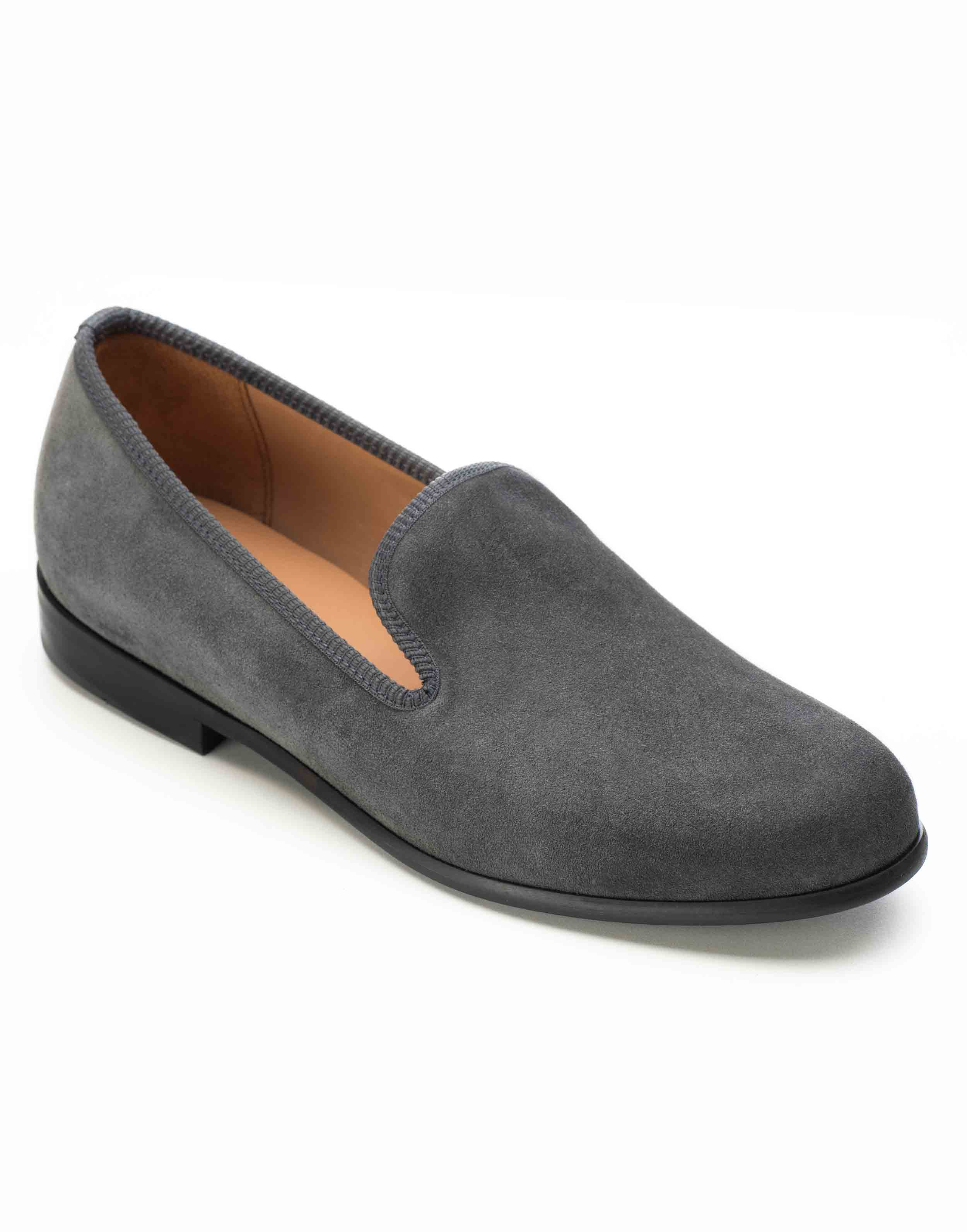 GREY SUEDE LOAFERS2
