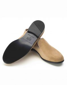 LIGHT TAN SUEDE LOAFERS3