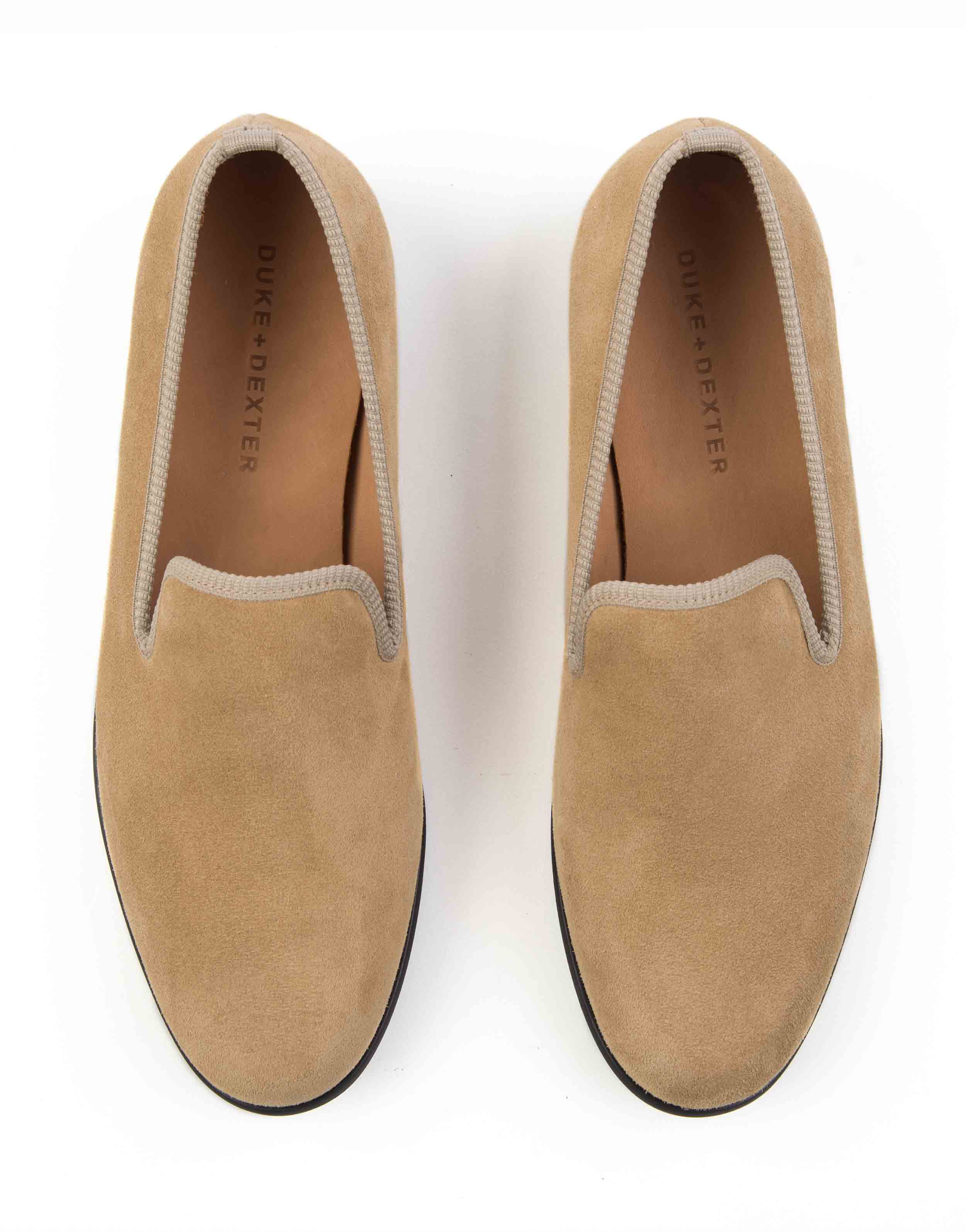 LIGHT TAN SUEDE LOAFERS4
