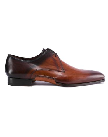 Magnanni Ombre Lace Up Cuero Derby