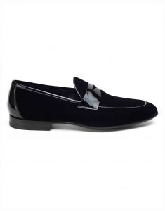 SUEDE TUXEDO LOAFER1