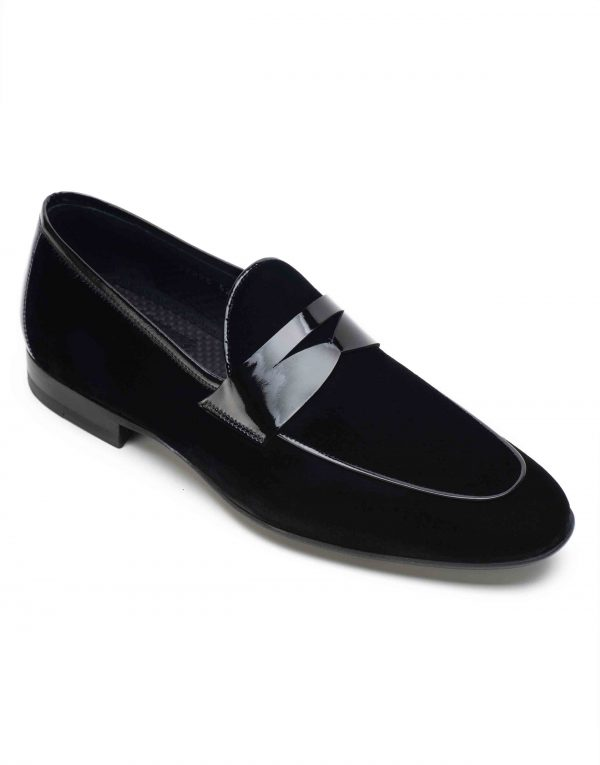 SUEDE TUXEDO LOAFER2